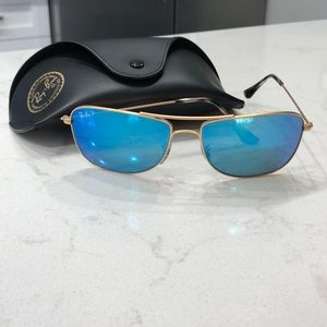 Accessories - RAY BAN POLARIZED MIRRORED SUNGLASSES